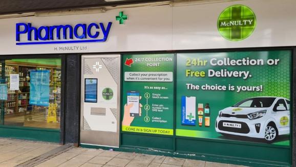 H McNulty Pharmacy, Coatbridge