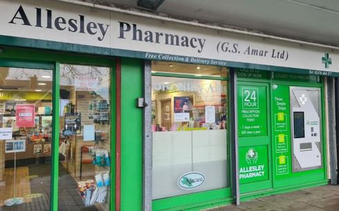 Allesley Pharmacy, Coventry