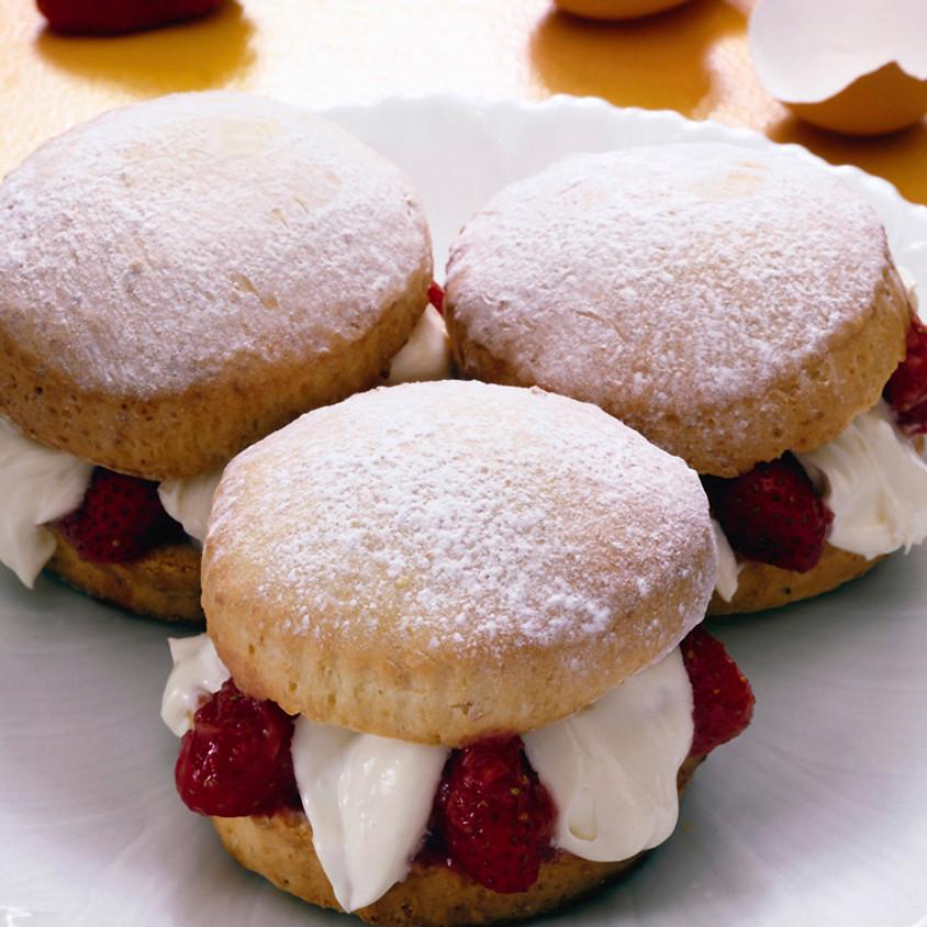 Kids & Teens Class: Strawberry Napoleon Pastries~ 10:30 AM