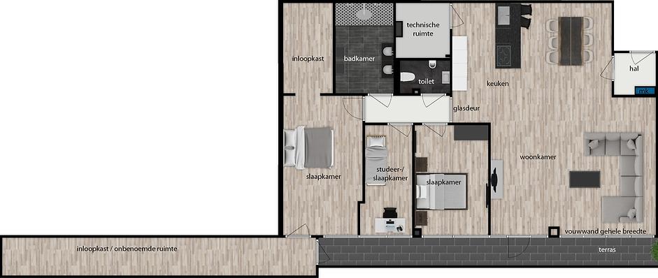 Appartement 4 't Loo Heiloo
