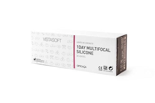 VISTASOFT Lentes 1 Day Multifocal Silicone