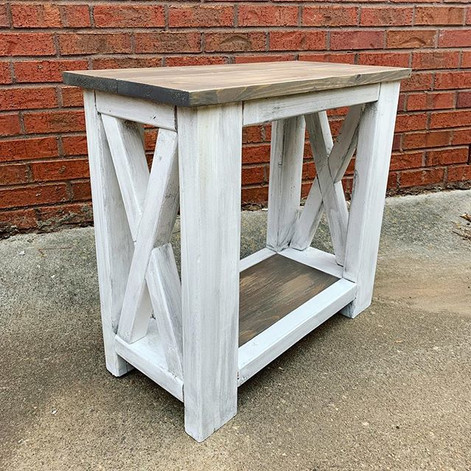 Finished up this custom small end table
