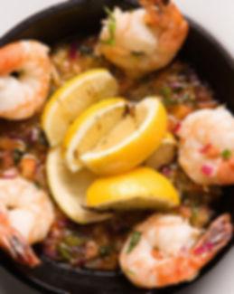 Pan Seared Shrimp