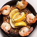 Garlic Shrimp Dinner