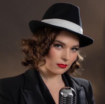 Beth as Frank Sinatra