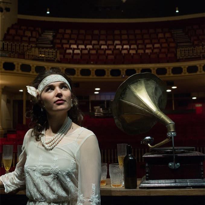 Daisy Buchanan in 'Looking for Gatsby'