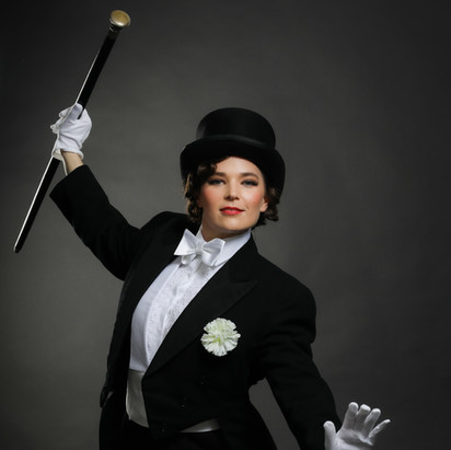 Beth burrows as Fred Astaire
