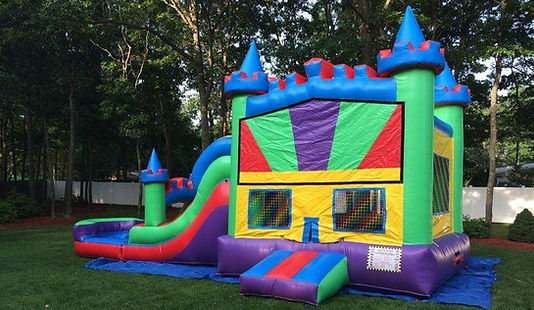inflatable slide rental