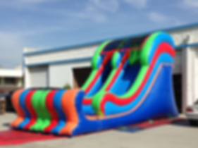 big water slides for rent