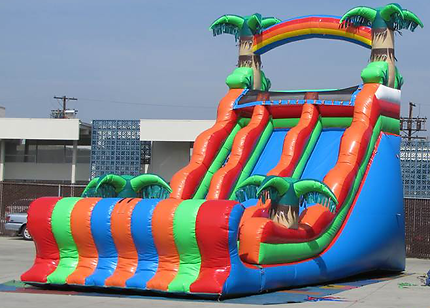 where to rent water slides near me