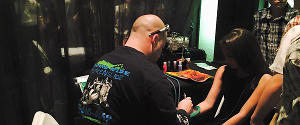 airbrush tattoo party Long Island