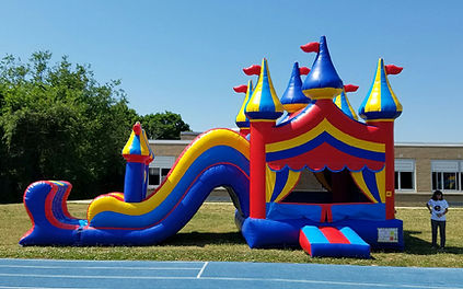 bounce and slide party rentals