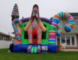 candyland bounce house