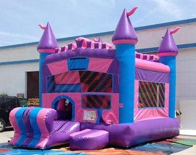 bouncy slide rental