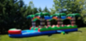 slip and slide rentals near me