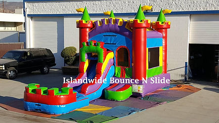 blow up water slide rental