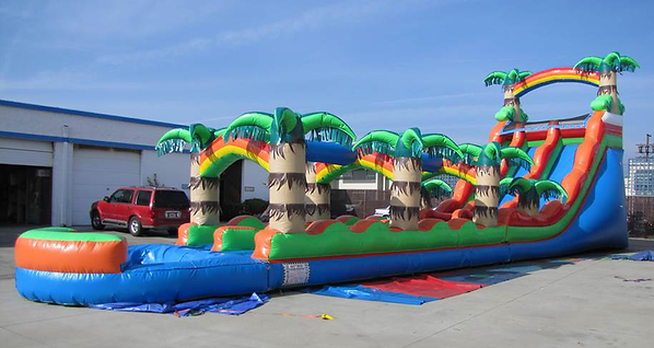 large water slide rentals near me
