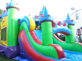 water bounce house near me