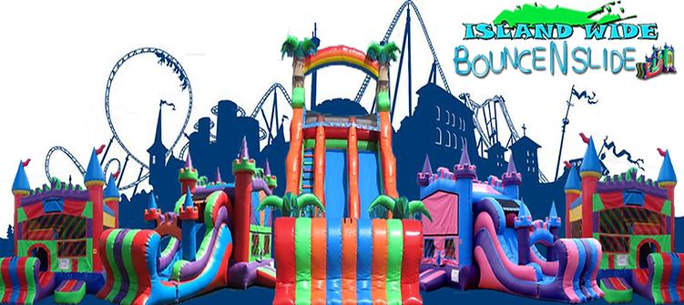 bounce house water slide rental