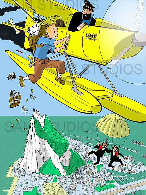 Tintin Over Gibraltar