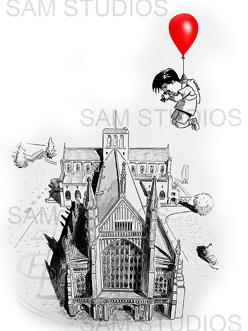 Winchester Cathedral - Red Balloon