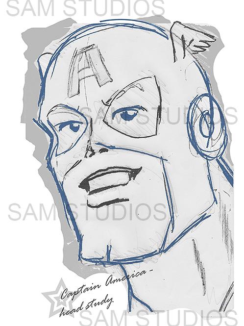 Captain America - Study