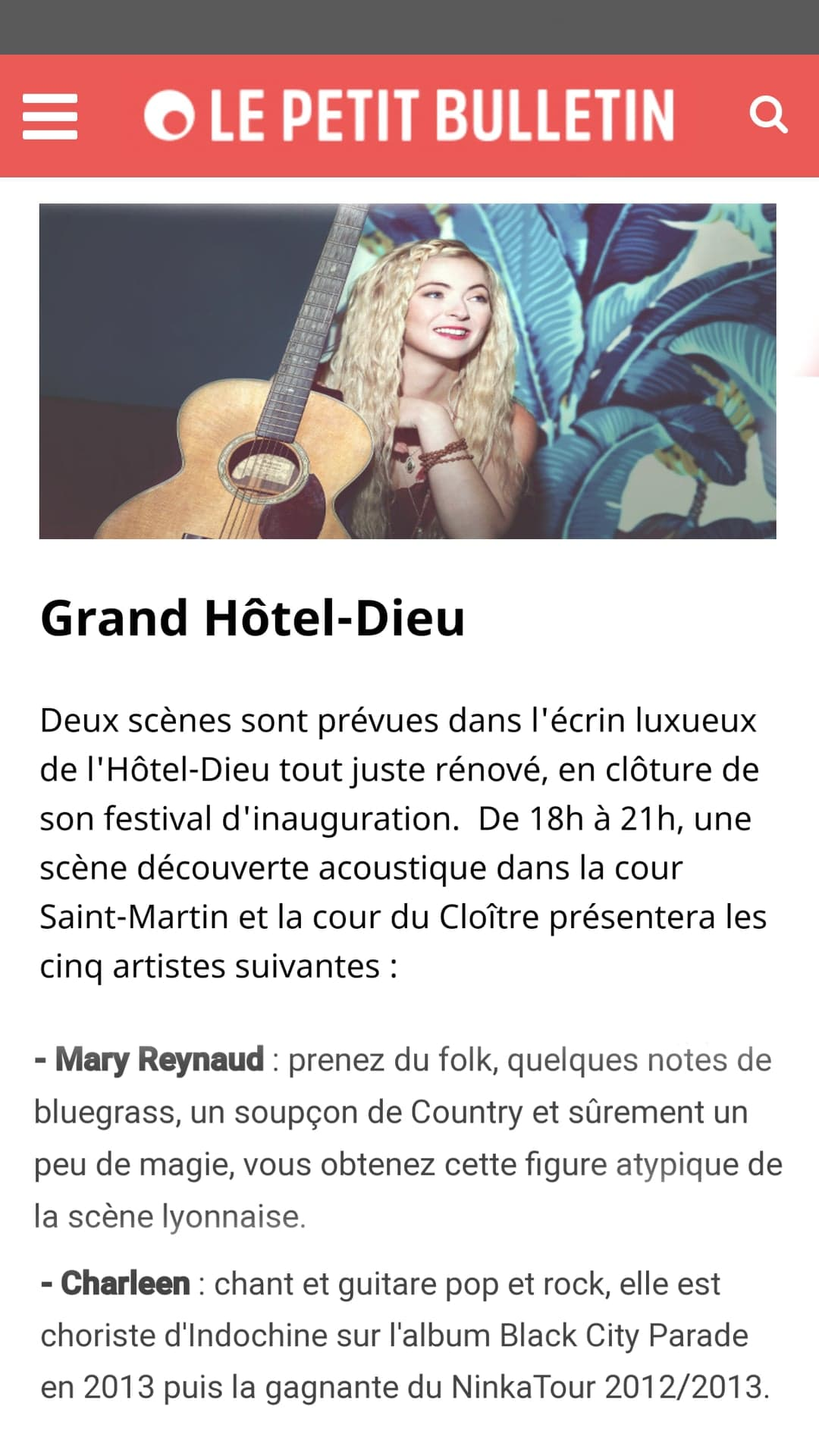 Le Petit Bulletin - Lyon 2018