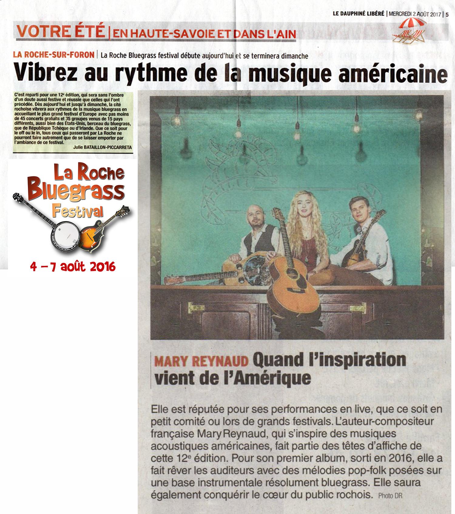 Le Dauphiné Libéré - 03/08/2017