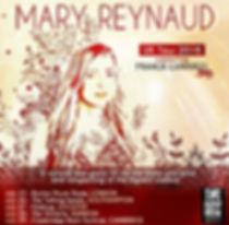 Mary Reynaud UK tour 2018