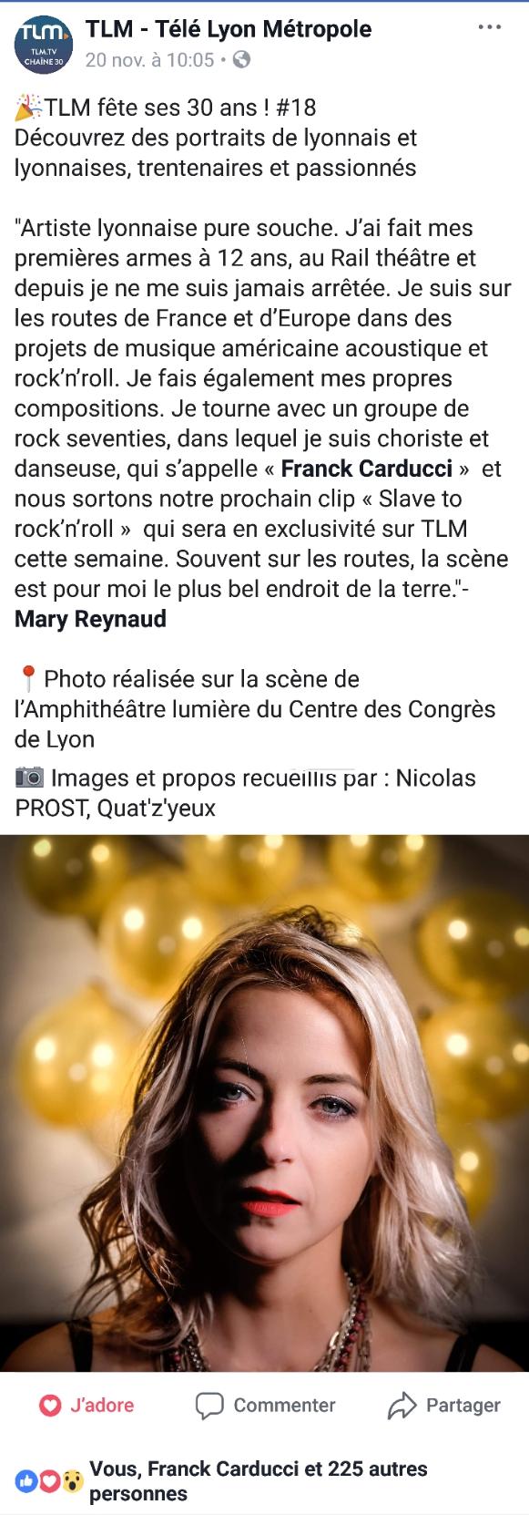 TLM  - Les trentenaires lyonnais
