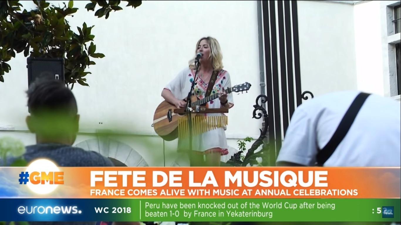 EURONEWS - Fête de la Musique