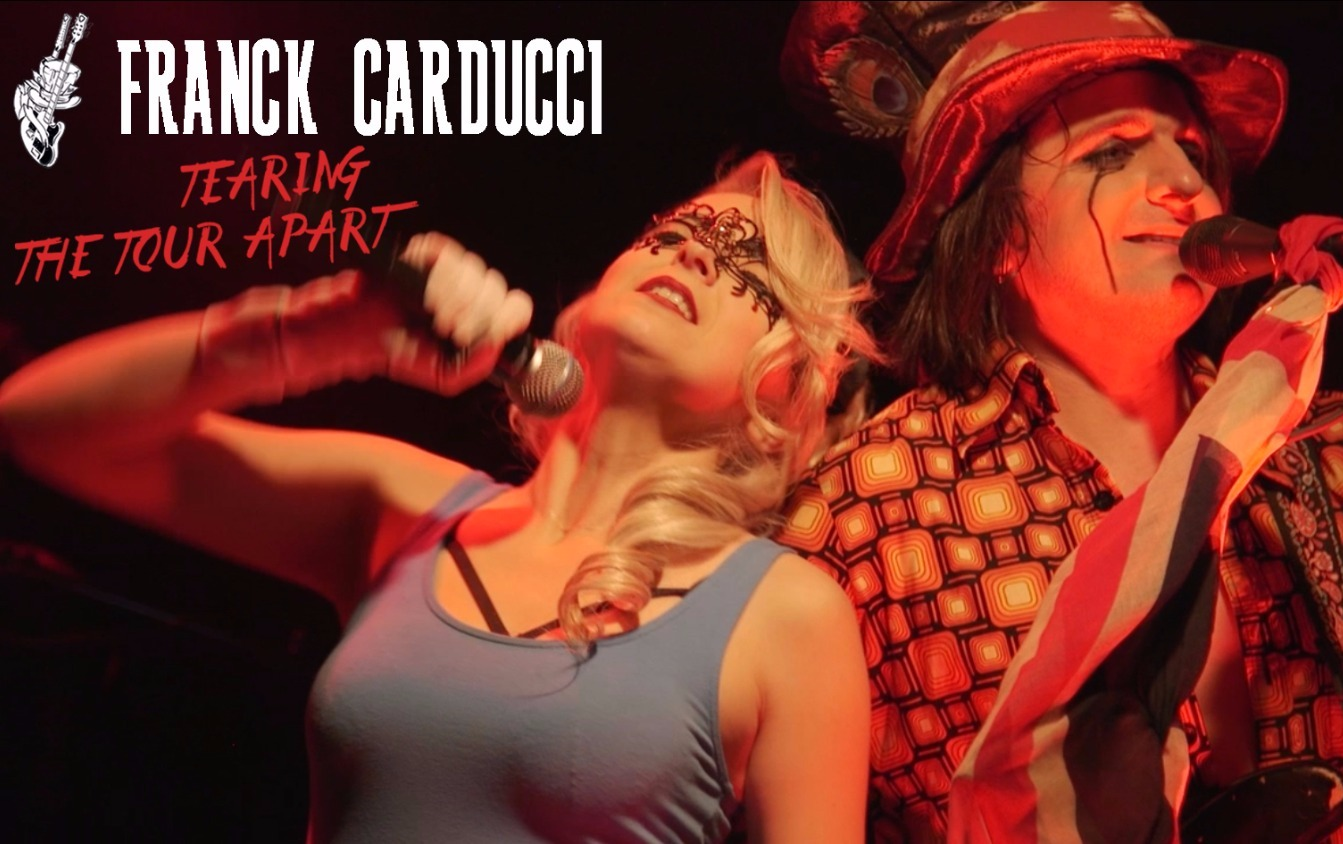 FRANCK CARDUCCI DVD LIVE - TEASER