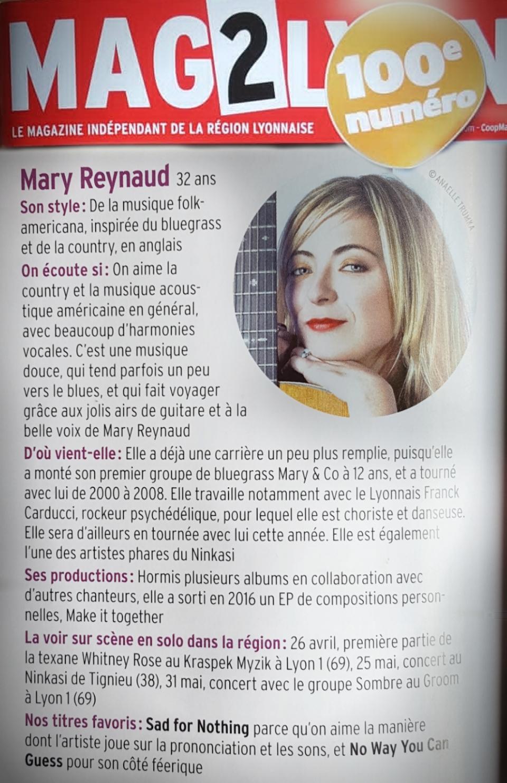 Lyon Mag n°100 - Artistes à suivre