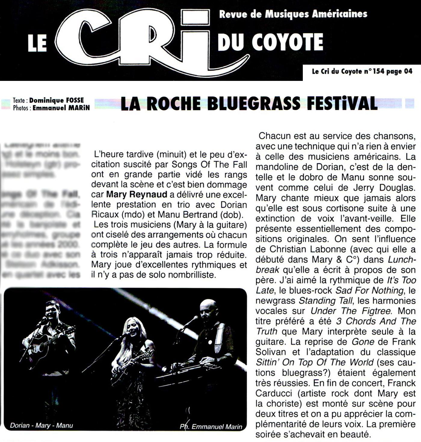 Le Cri du Coyote - 09/2017