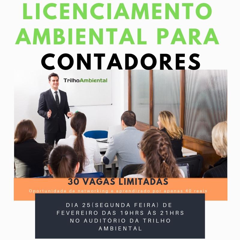 Imagem do Evento de Licenciamento Ambiental para Contadores