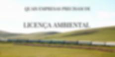 foto tratando empresas que precisam de licenca ambiental