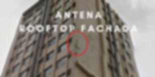 Imagem de antena rooftop fachada