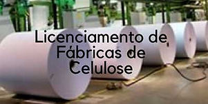 Imagem de uma fabrica de celulose
