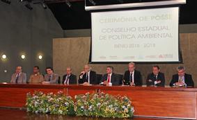 Conselheiros do COPAM para o biênio 2016-2018 são empossados