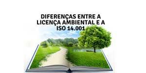 Imagem sobre as diferencas entre licença ambiental a iso 14001