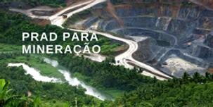 Imagem de PRAD para mineração