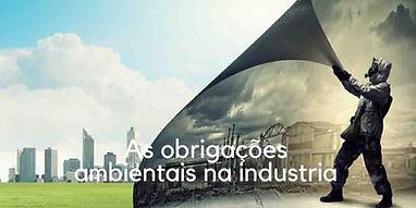 imagem representando as obrigações ambientais na indústria