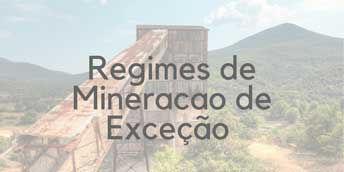 Imagem de mineração com regime de exceção