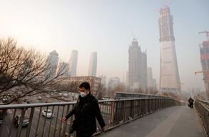 Concentração de gases poluentes continua a preocupar a China