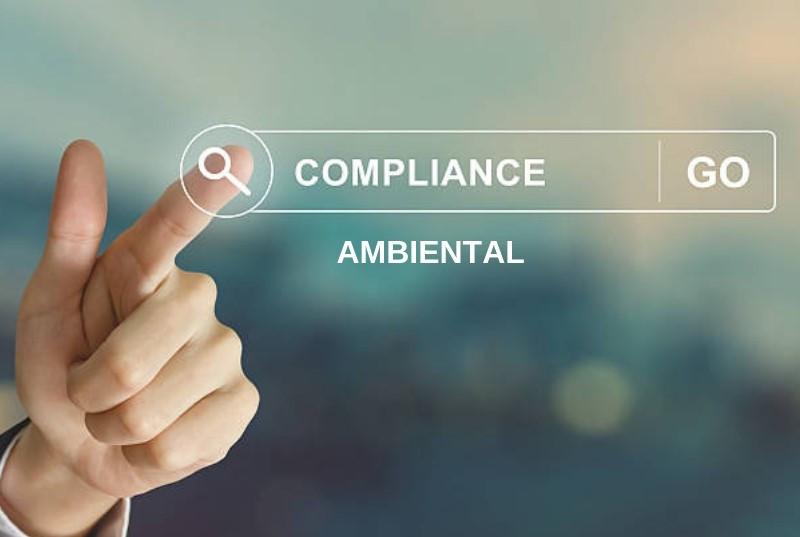 Imagem de dedo referente apontando para compliance ambiental