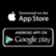 Imagem da Apple Store e da Google Play.p