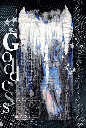 Blue Goddess poster