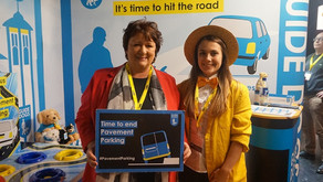 Local MSP helps raise awareness of the dangers of pavement parking