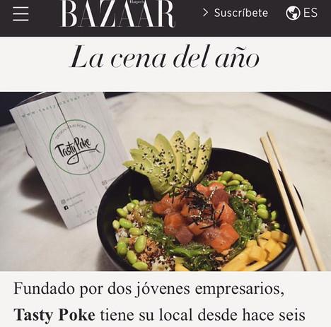 Tasty Poke en Harper's Bazaar