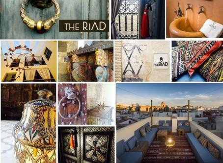 Escápate al exotismo árabe del hotel The Riad en Tarifa, sin salir de España.